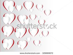 This image is a Vector Illustration of a Valentines Day Heart Shape./ Vector Illustration of a Valentines Day Heart Shape/Vector Illustration of a Valentines Day Heart Shape