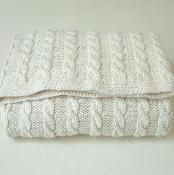 Baby Blanket - 'Classic Cable Blanket'