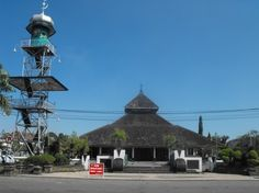 See 1 photo from 18 visitors to Mesjid Agung Demak. Vernacular Architecture, Gazebo, Islam, Outdoor Structures, Urban, Country, Beautiful, Reading, Books