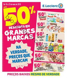 Antevisão Folheto E-LECLERC Promoções de 10 a 23 maio - http://parapoupar.com/antevisao-folheto-e-leclerc-promocoes-de-10-a-23-maio/