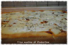 La cucina di Federica: Pizza soffice