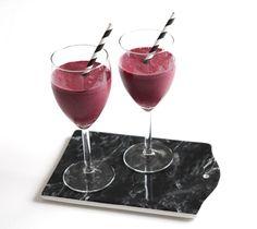 www.therez.se - #blueberrysmoothie #smoothie