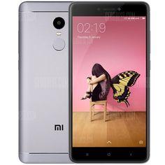 🏷️🐼 Xiaomi Redmi Note 4 4G Phablet-GLOBAL VERSIONGRAY - 123.31€      #BonsPlans, #Deals, #Discount, #Gearbest, #Promotions, #Réduc, #Xiaomi
