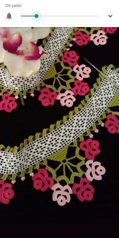 Crochet Borders, Crochet Flower Patterns, Crochet Flowers, Crochet Lace, Viking Tattoo Design, Viking Tattoos, Sunflower Tattoo Design, Needle Lace, Homemade Beauty Products