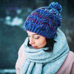 Еще немного красоты от нашей мастерской 😊 #knitting_inspiration #knitwear #briocheknitting #knitting #hoorma #hoorma_шапка