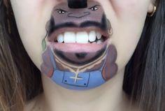 laura jenkinson bouche maquillage