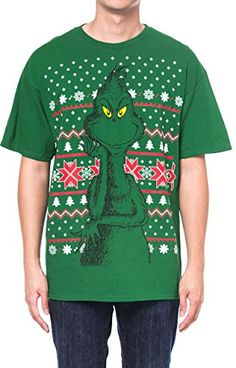 Grinch T-Shirt Christmas Costume | from $11