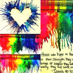 melting crayon craft..new obsession thanks pintrest!