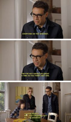 """When you look at social media. 