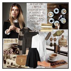 """Coffee Addiction"" by ruzanjessie ❤ liked on Polyvore featuring Zara, Chloé, Theory, Valentino, Maison Rabih Kayrouz, Dieppa Restrepo, Rolex, Haridra, John Varvatos and Stephen Dweck"