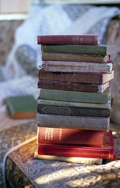 """Books work from the inside out. They are a private conversation happening somewhere in the soul.""    - Jeanette Winterson"