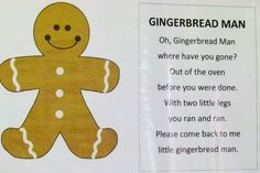 Dec. gingerbread poem