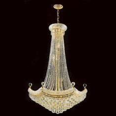 Found it at Wayfair - Empire 18 Light Crystal Chandelier
