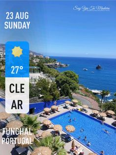 Weather in Madeira in August (2020) | Say Yes to Madeira August Weather, Sunny Weather, Funchal, Flower Festival, Photo Report, Ocean City, New Pictures, Island, Outdoor