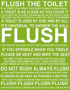 Bathroom Signs Keep Clean wooden funny plaque sign toilet rules bathroom: amazon.co.uk