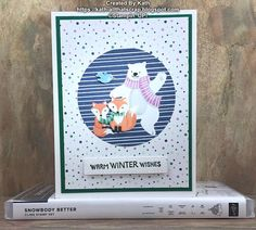 Stampin Up Christmas, Christmas Cards To Make, Christmas Minis, Christmas In July, Xmas Cards, Christmas Crafts, Stampin Up Weihnachten, Penguin Party, December Holidays