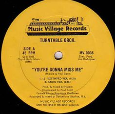 Turntable Orch.* - You're Gonna Miss Me