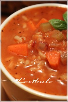Chowder Recipes, Chili Recipes, Soup Recipes, Tomato Rice Soup, Canadian Food, Canadian Recipes, French Food, Stew, Meal Prep