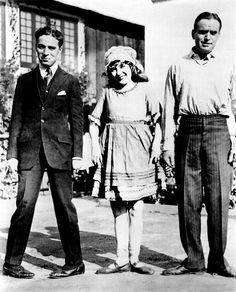 Charlie Chaplin, Mary Pickford, Douglas Fairbanks
