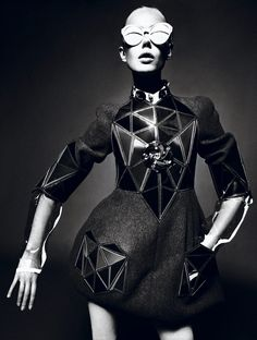 Back to the Future: Frida Gustavsson by Mert & Marcus