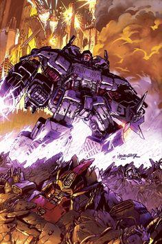Transformers - Decepticon Persecutor. #Transformers #Decepticons #Autobots