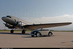 With a DC-3, one of my favorites!