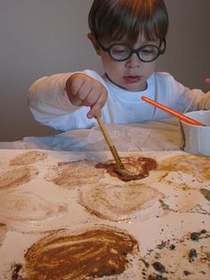 Spice Painting - Pinned by @PediaStaff – Please visit http://ht.ly/63sNt for all (hundreds of) our pediatric therapy pins