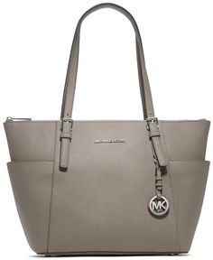 MICHAEL Michael Kors Handbag, Jet Set East West Top Zip Tote - Handbags & Accessories - Macy's