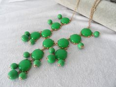 Classic  Big Size Bubble necklace Bib necklace by elf1913 on Etsy, $14.00
