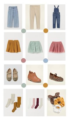 Kids fall capsule + back to school picks. | In Honor Of Design