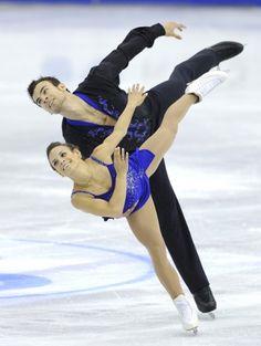 2012 World Figure Skating Championships, Nice, France - pairs free program - Canada's Meagan Duhamel & Eric Radford