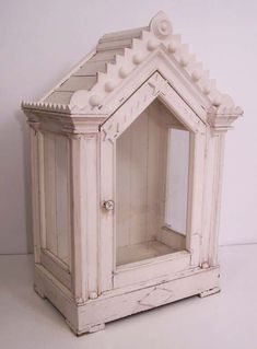 Doll Display, Display Case, Display Ideas, Crystal Room, Home Altar, Glass Front Door, Front Doors, Glass Bathroom, Mid Century Modern Furniture