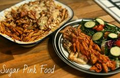 Sugar Pink Food: Slimming World Recipe:- BBQ Chicken Pasta Melt