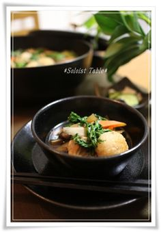 *Soloist Table*:きりたんぽチックなお手軽鍋♪ だまっこ鍋