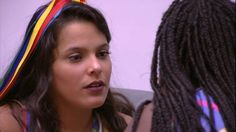 """Big Brother Brasil 17"" - Roberta e Emilly conversam e se desentendem"