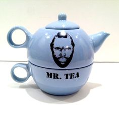 Okay, who doesn't need this Mr. Tea pot? Because we do.