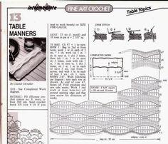 Funda Bolso para Cubiertos Patron - Patrones Crochet