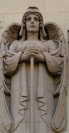 Art Deco detail, USA