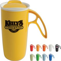 Spectrum Marketing Communication Inc from Cherry Hill NJ USA Logo Site, Fudge Factory, Custom Travel Mugs, Wall Insulation, Event Marketing, Porcelain Mugs, Corporate Gifts, How To Lose Weight Fast, Promotion