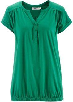 Maravilhoso ! sim ou não!!   Blusa básica barra elástica verde manga curta com decote V <3 encontre aqui  http://ift.tt/2awC2pG
