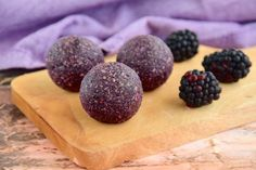 Increase Your Energy With Blackberry Coconut Boosting Bites (Sugar Free, Carb Free)