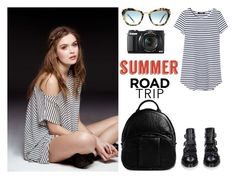 """""""SUMMER ROAD TRIP"""" by sanskrit7 ❤ liked on Polyvore featuring Givenchy, Alexander Wang, Miu Miu, G1 and roadtrip"""