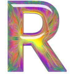 Alfabeto hippy de colores y letras grandes. | Oh my Alfabetos!