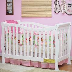 AFG Athena Nadia 3-in-1 Fixed Side Crib with Toddler Rail, Choose Your Finish Review
