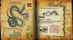 Book Of Dragons - Whispering Death page
