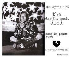 """in memory of kurt cobain"" by katielukesh on Polyvore featuring kurtcobain, nirvana and grunge"