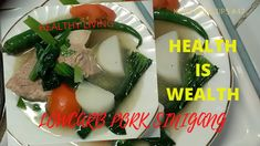 An old time Ilonggo favorite lunch pork recipe which fits to my lowcarb diet! Pork Recipes, Keto Recipes, Pork Sinigang, Keto Meal, Meal Ideas, Healthy Lifestyle, Healthy Living, Lunch, Stuffed Peppers