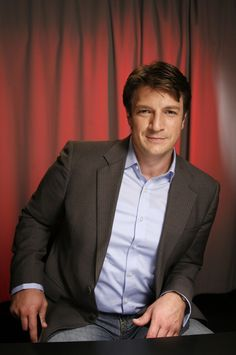 Nathan Fillion trivia, pictures, links and merchandise. A page dedicated to the actor known as Richard Castle on the TV series 'Castle'. Part of the TV and Movie Trivia Tribute. Nathan Fillion, Dear Nathan, Malcolm Reynolds, Castle Tv Series, Richard Castle, Castle Beckett, Charming Man, Star Trek Enterprise, Firefly Serenity