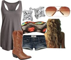 """""""Summer at the lake"""" by small-town-country-gurl on Polyvore"""
