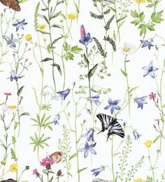 107 199 123 200 Fibre content: PES Width (mm): 2000 Weight (g& 300 … Watercolour Art, Amazing Drawings, Wall Wallpaper, Chinoiserie, Powder Room, Flower Patterns, Binder, Gift Tags, Floral Prints